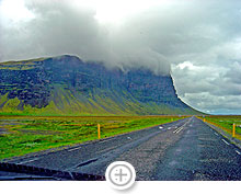 On the road. South coast of Iceland (3)