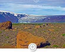 Alone in the desert of the Iceland Highlands (1)