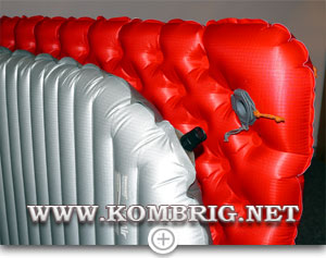 Сравнение ширины ковриков Sea to Summit Comfort plus Insulated и Therm-a-Rest NeoAir XTherm (2)