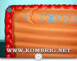 Сравнение ширины ковриков Sea to Summit Comfort plus Insulated и Exped SynMat 7 M (2)
